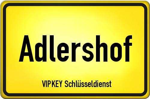 Ortseingangsschild Berlin - Adlershof