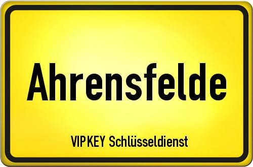 Ortseingangsschild Brandenburg - Ahrensfelde