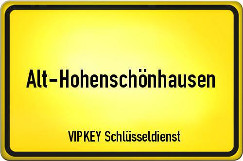 Ortseingangsschild Berlin - Alt-Hohenschönhausen
