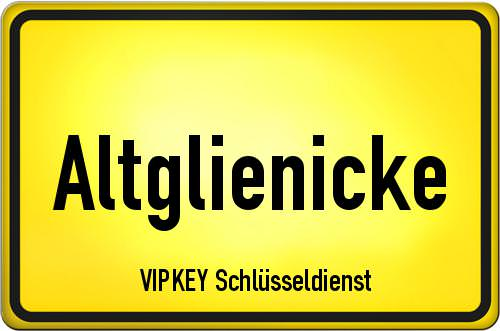 Ortseingangsschild Berlin - Altglienicke