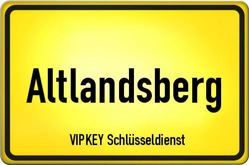 Ortseingangsschild Brandenburg - Altlandsberg