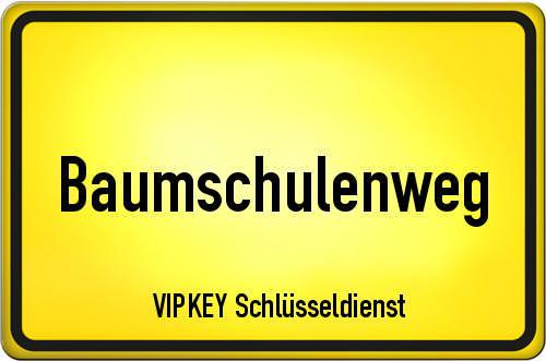 Ortseingangsschild Berlin - Baumschulenweg