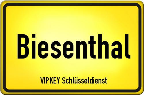 Ortseingangsschild Brandenburg - Biesenthal
