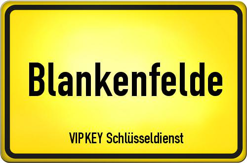 Ortseingangsschild Berlin - Blankenfelde