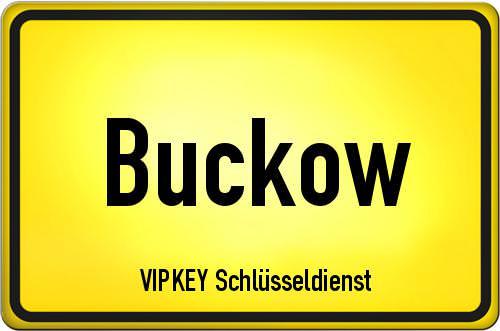 Ortseingangsschild Berlin - Buckow