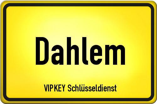 Ortseingangsschild Berlin - Dahlem