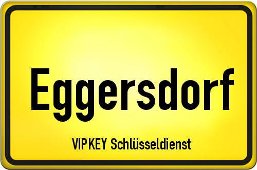 Ortseingangsschild Brandenburg - Eggersdorf