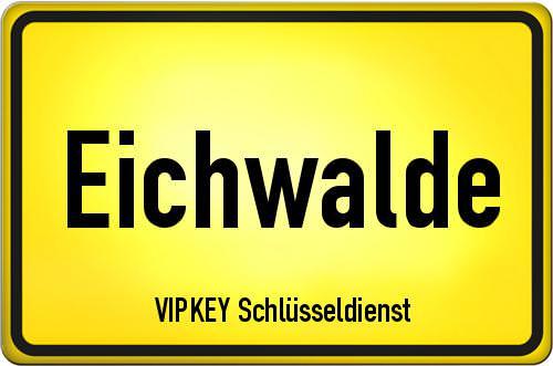 Ortseingangsschild Brandenburg - Eichwalde