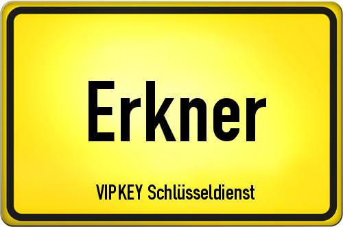 Ortseingangsschild Brandenburg - Erkner