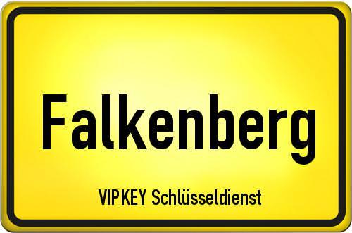 Ortseingangsschild Berlin - Falkenberg