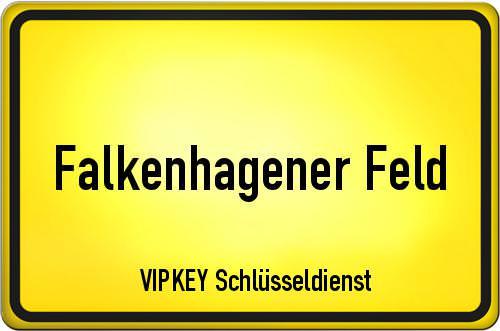 Ortseingangsschild Berlin - Falkenhagener Feld