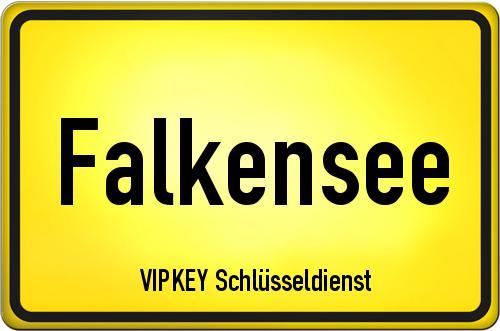 Ortseingangsschild Brandenburg - Falkensee