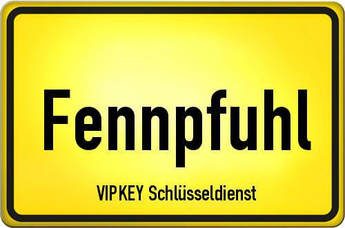 Ortseingangsschild Berlin - Fennpfuhl