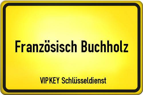 Ortseingangsschild Berlin - Französisch Buchholz