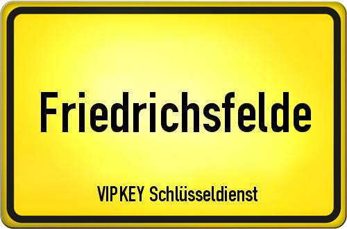 Ortseingangsschild Berlin - Friedrichsfelde
