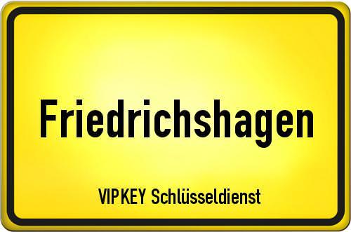 Ortseingangsschild Berlin - Friedrichshagen