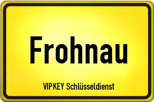 Ortseingangsschild Berlin - Frohnau