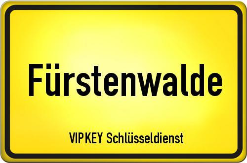Ortseingangsschild Brandenburg - Fürstenwalde