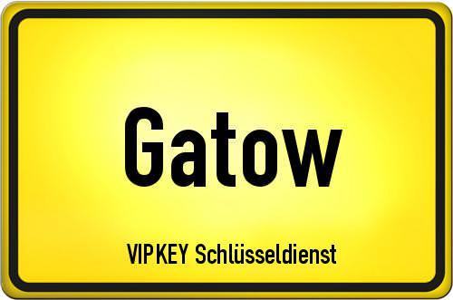 Ortseingangsschild Berlin - Gatow