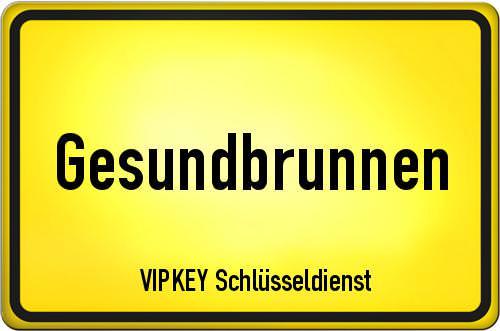 Ortseingangsschild Berlin - Gesundbrunnen