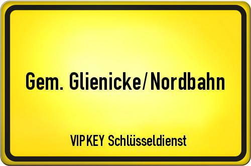 Ortseingangsschild Berlin - Gem. Glienicke/Nordbahn