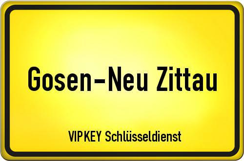 Ortseingangsschild Brandenburg - Gosen-Neu Zittau