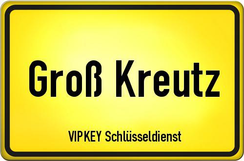 Ortseingangsschild Brandenburg - Groß Kreutz