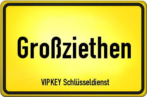 Ortseingangsschild Brandenburg - Großziethen
