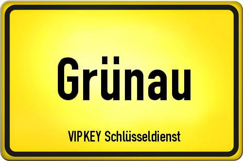 Ortseingangsschild Berlin - Grünau