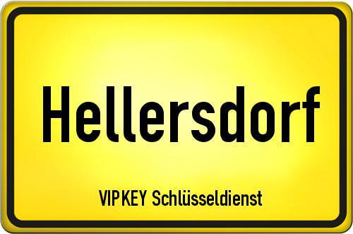 Ortseingangsschild Berlin - Hellersdorf