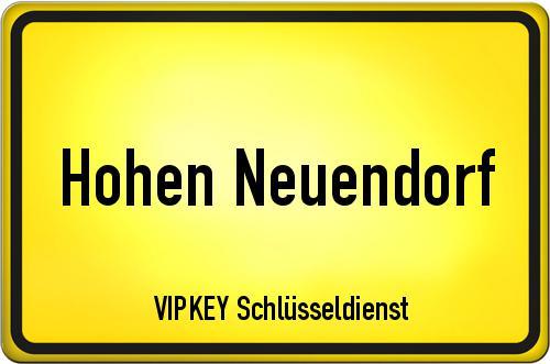 Ortseingangsschild Brandenburg - Hohen Neuendorf