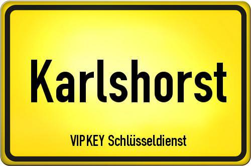 Ortseingangsschild Berlin - Karlshorst