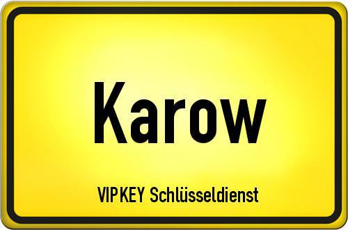 Ortseingangsschild Berlin - Karow