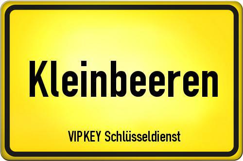 Ortseingangsschild Brandenburg - Kleinbeeren