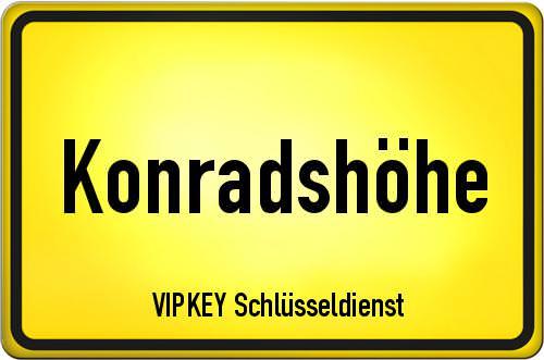 Ortseingangsschild Berlin - Konradshöhe