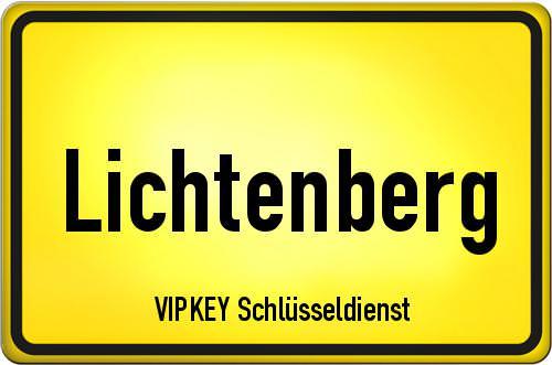Ortseingangsschild Berlin - Lichtenberg