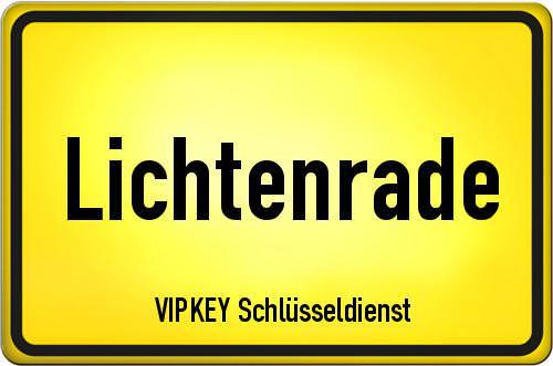 Ortseingangsschild Berlin - Lichtenrade