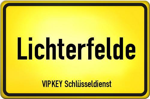 Ortseingangsschild Berlin - Lichterfelde