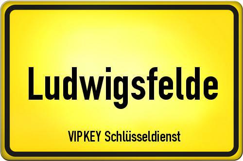 Ortseingangsschild Brandenburg - Ludwigsfelde