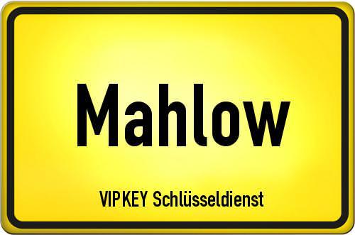 Ortseingangsschild Brandenburg - Mahlow