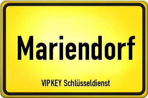 Ortseingangsschild Berlin - Mariendorf