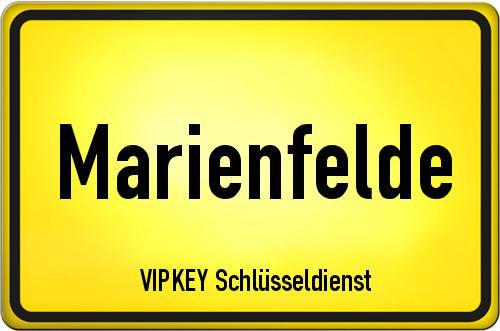 Ortseingangsschild Berlin - Marienfelde