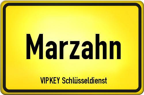 Ortseingangsschild Berlin - Marzahn