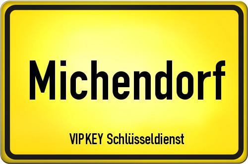 Ortseingangsschild Brandenburg - Michendorf
