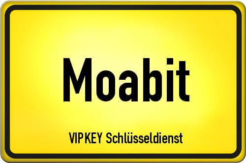 Ortseingangsschild Berlin - Moabit