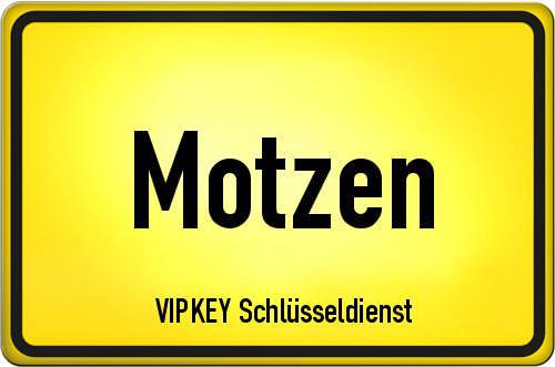 Ortseingangsschild Brandenburg - Motzen