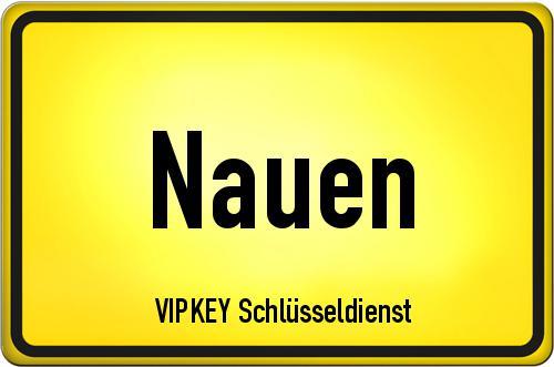 Ortseingangsschild Brandenburg - Nauen