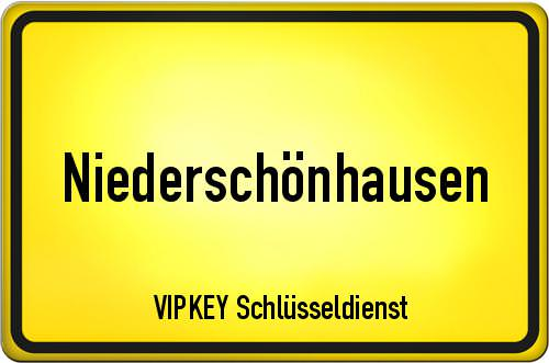 Ortseingangsschild Berlin - Niederschönhausen