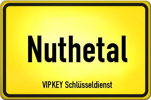 Ortseingangsschild Brandenburg - Nuthetal