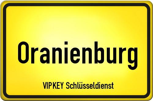 Ortseingangsschild Brandenburg - Oranienburg
